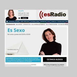Entrevista a Mamen Jiménez en Es Sexo, con Ayanta Barilli