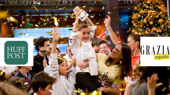 Ana Saro en Grazia y Huffington Post: Niños en realities