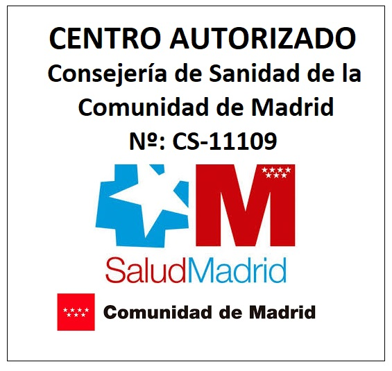 Centro autorizado por la comunidad de Madrid